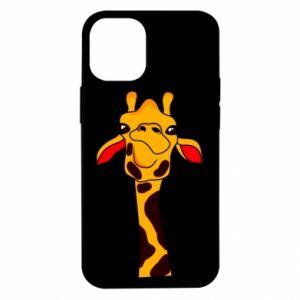 Etui na iPhone 12 Mini Yellow giraffe