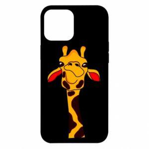 Etui na iPhone 12 Pro Max Yellow giraffe
