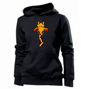 Women's hoodies Yellow giraffe