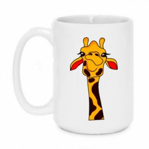 Kubek 450ml Yellow giraffe - PrintSalon