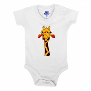 Baby bodysuit Yellow giraffe