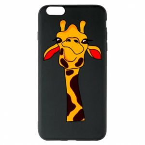 iPhone 6 Plus/6S Plus Case Yellow giraffe
