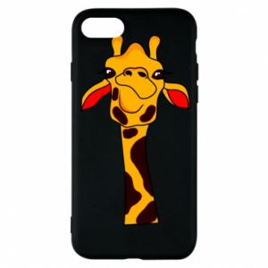 iPhone 7 Case Yellow giraffe