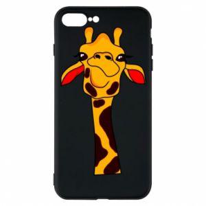 Etui na iPhone 7 Plus Yellow giraffe