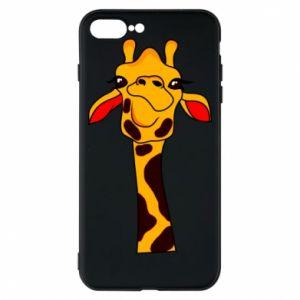 Etui na iPhone 8 Plus Yellow giraffe