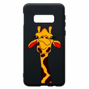 Etui na Samsung S10e Yellow giraffe