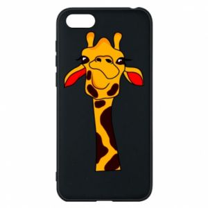 Huawei Y5 2018 Case Yellow giraffe