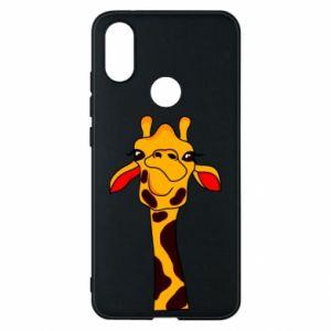 Etui na Xiaomi Mi A2 Yellow giraffe