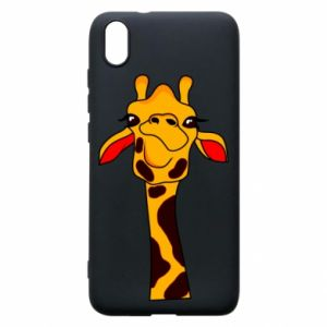 Xiaomi Redmi 7A Case Yellow giraffe