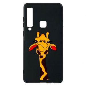 Etui na Samsung A9 2018 Yellow giraffe