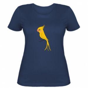 Koszulka damska Yellow parrot
