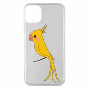 Etui na iPhone 11 Pro Yellow parrot