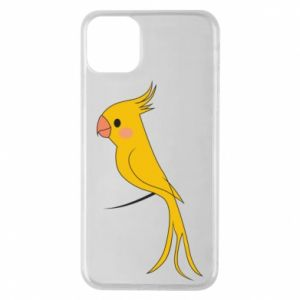 Etui na iPhone 11 Pro Max Yellow parrot
