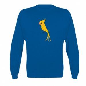 Bluza dziecięca Yellow parrot