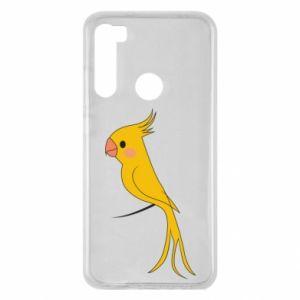Etui na Xiaomi Redmi Note 8 Yellow parrot