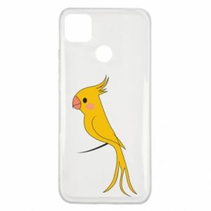 Etui na Xiaomi Redmi 9c Yellow parrot