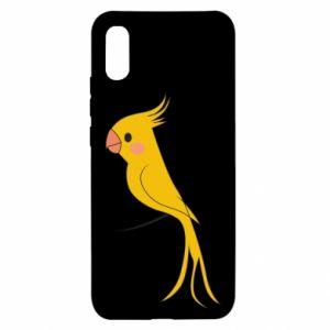 Etui na Xiaomi Redmi 9a Yellow parrot
