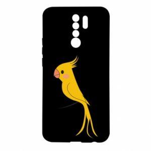 Etui na Xiaomi Redmi 9 Yellow parrot