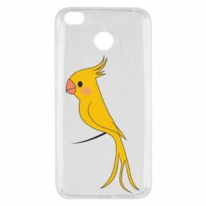 Etui na Xiaomi Redmi 4X Yellow parrot