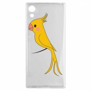 Etui na Sony Xperia XA1 Yellow parrot