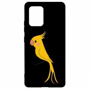 Etui na Samsung S10 Lite Yellow parrot