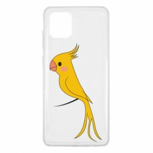 Etui na Samsung Note 10 Lite Yellow parrot