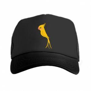 Czapka trucker Yellow parrot