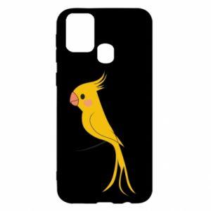 Etui na Samsung M31 Yellow parrot