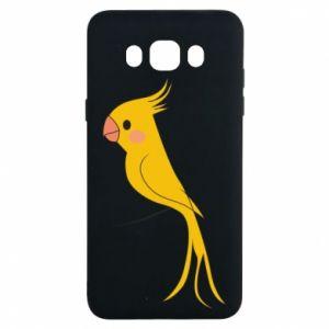 Etui na Samsung J7 2016 Yellow parrot