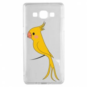 Etui na Samsung A5 2015 Yellow parrot