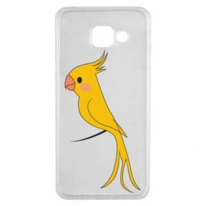 Etui na Samsung A3 2016 Yellow parrot
