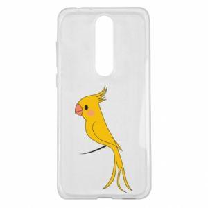 Etui na Nokia 5.1 Plus Yellow parrot