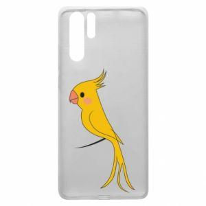 Etui na Huawei P30 Pro Yellow parrot