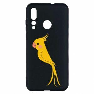 Etui na Huawei Nova 4 Yellow parrot