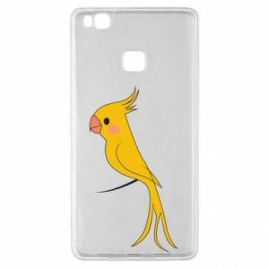 Etui na Huawei P9 Lite Yellow parrot