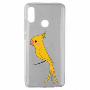 Etui na Huawei Honor 10 Lite Yellow parrot