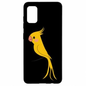 Etui na Samsung A41 Yellow parrot