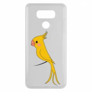 Etui na LG G6 Yellow parrot