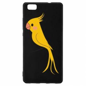 Etui na Huawei P 8 Lite Yellow parrot