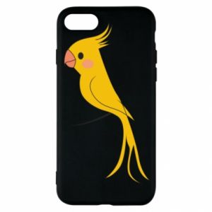 Etui na iPhone SE 2020 Yellow parrot