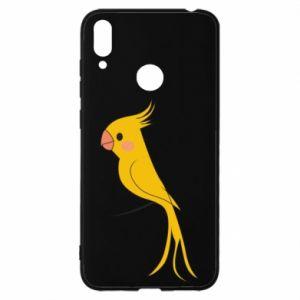 Etui na Huawei Y7 2019 Yellow parrot