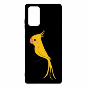 Etui na Samsung Note 20 Yellow parrot