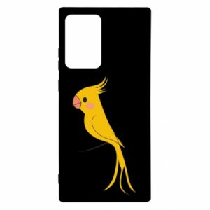 Etui na Samsung Note 20 Ultra Yellow parrot