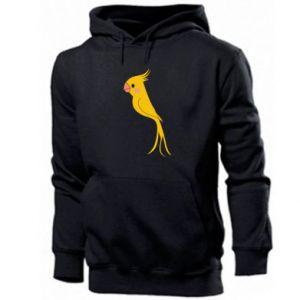 Bluza z kapturem męska Yellow parrot