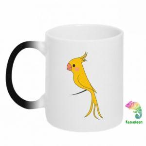 Kubek-magiczny Yellow parrot