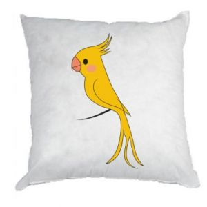 Poduszka Yellow parrot