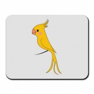 Podkładka pod mysz Yellow parrot