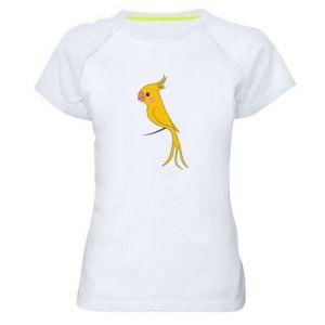 Koszulka sportowa damska Yellow parrot
