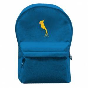 Plecak z przednią kieszenią Yellow parrot