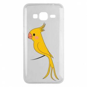 Etui na Samsung J3 2016 Yellow parrot